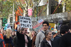 Melbourne solidarity rally for global #climatestrike - denial is not a policy - IMG_4634
