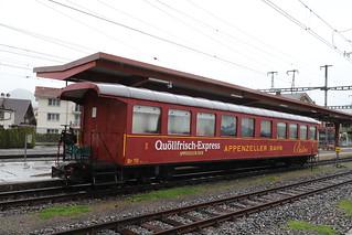 CH Appenzeller Bahn Br 10  Appenzell 03-05-2019