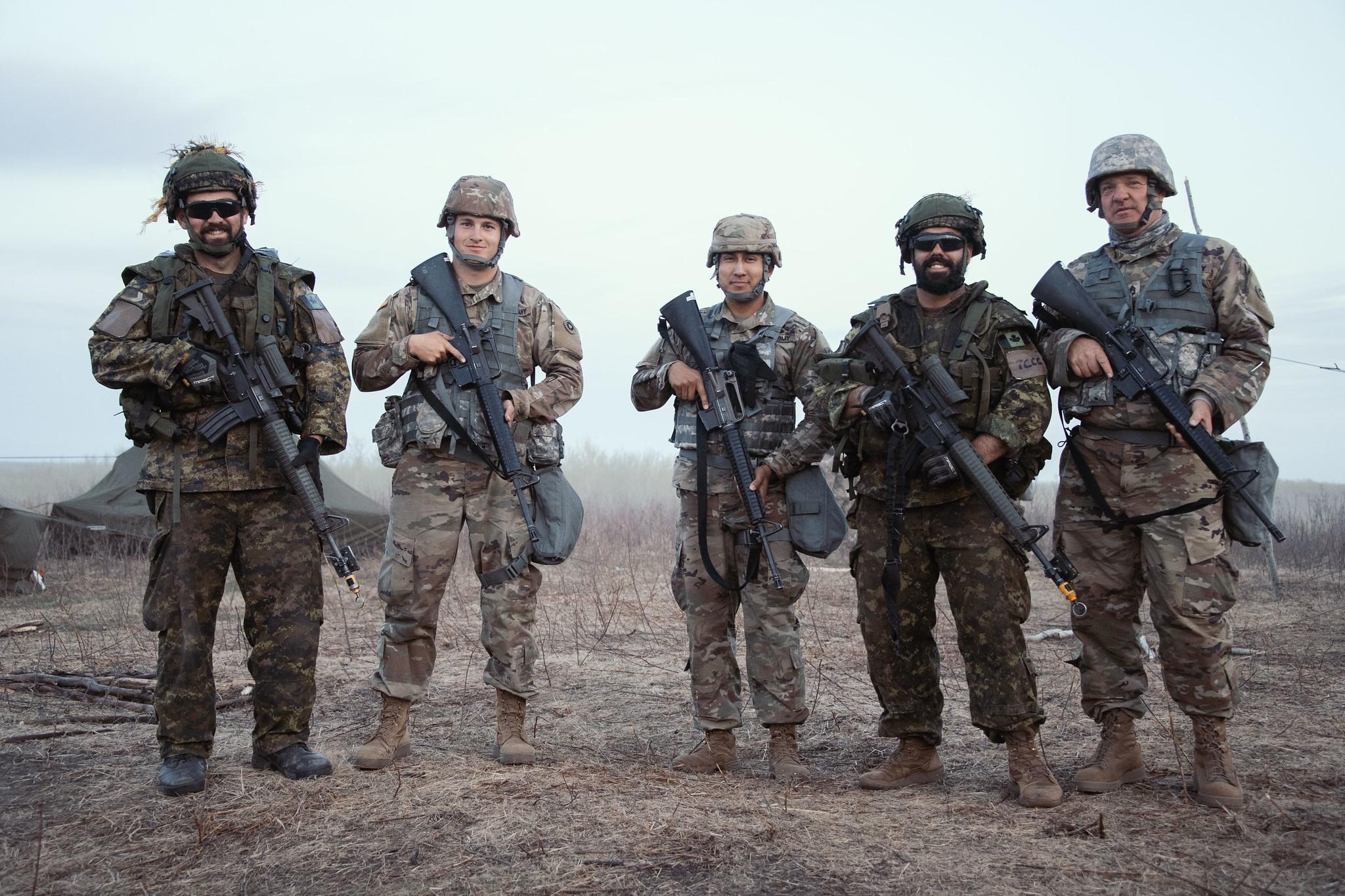 Canadian Army   Armée canadienne   Flickr