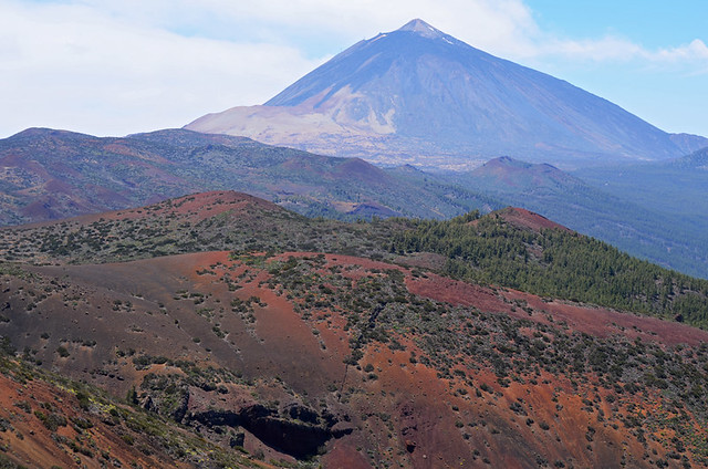 Teide from La Laguna route, Tenerife