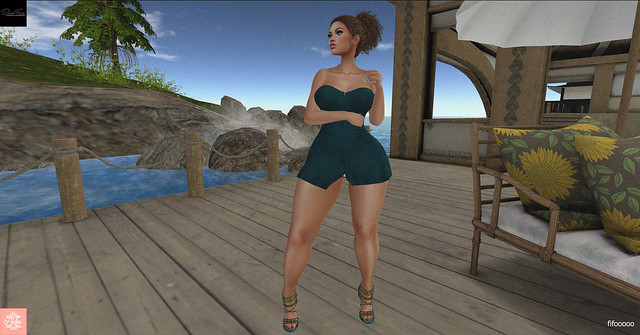DarkFire Maya Mini dress & Bishes Inc Paris Shoes @VANITY Event