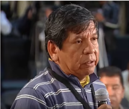 A screenshot of Mexican journalist Héctor Valdez speaking at the May 17 daily press conference of President Andrés Manuel López Obrador. (Govt. of Andrés Manuel López Obrador)