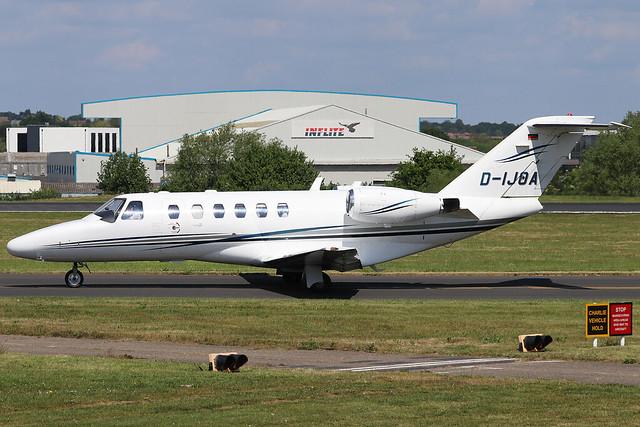 D-IJOA Excellent Air Cessna 525A CitationJet 2 at Southend Airport (SEN/EGMC)