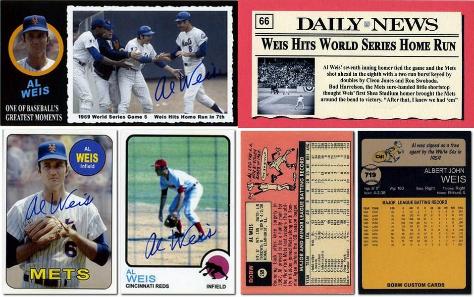 Bobw's Custom Baseball Cards