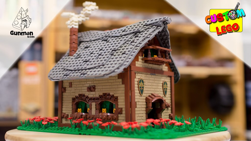 How to build a LEGO Medieval Cottage [MOC]
