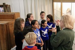 Zion 5th grade visits the Fallbrook Gem & Mineral Society