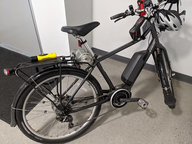 My Bike at work