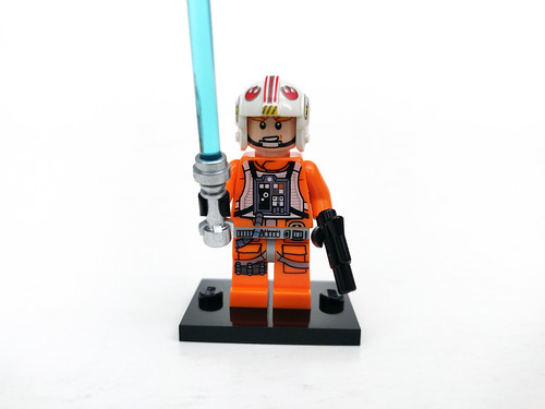 LEGO STAR WARS 20th Anniversary Luke Skywalker  minifigure from set 75259