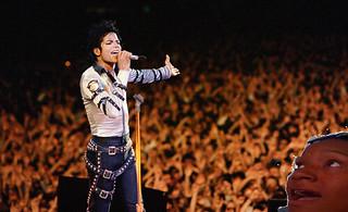 Me at a Michael Jackson Concert