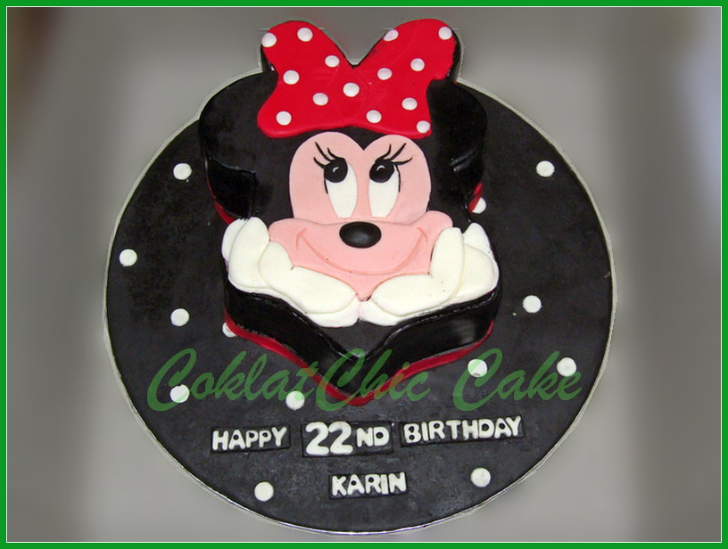 Cake Minnie Mouse KARIN 15 cm