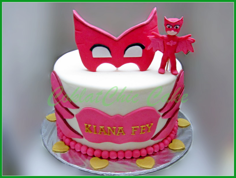 Cake PJ Maks KIANA 24 cm