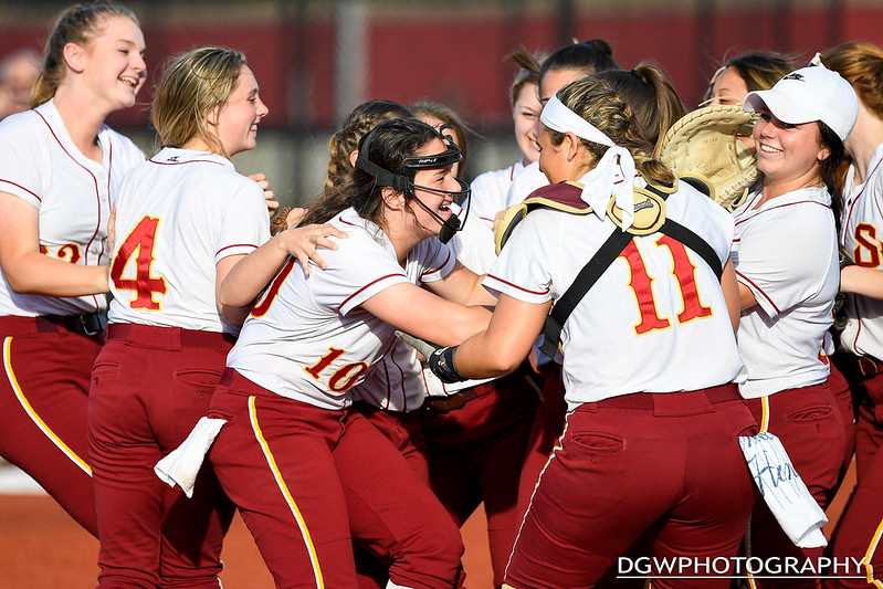 St. Joseph vs. Trumbull high - 2019 FCIAC Softball Championship