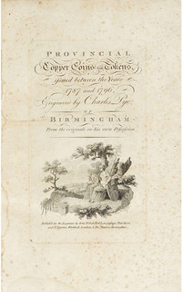 Pte Provincial Copper Coins or Tokens title page