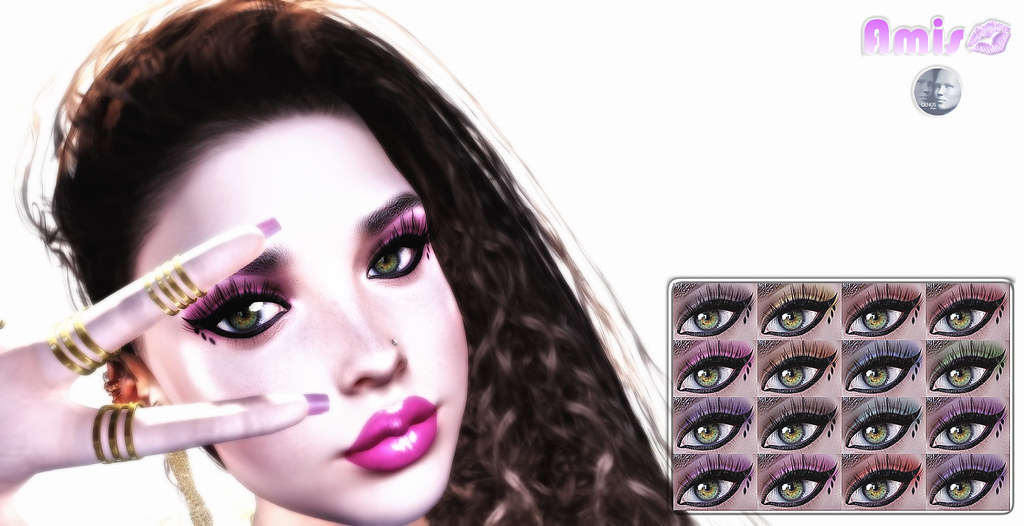 [Amis] Aurora's Eyeshadow – Genus Eyeshadow 16 colors f