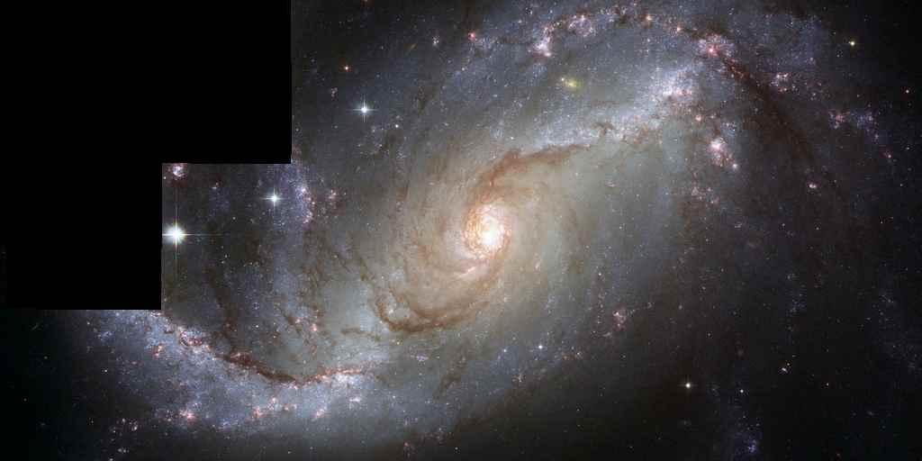 Hubble espionne une curieuse galaxie qui se rapproche de nous