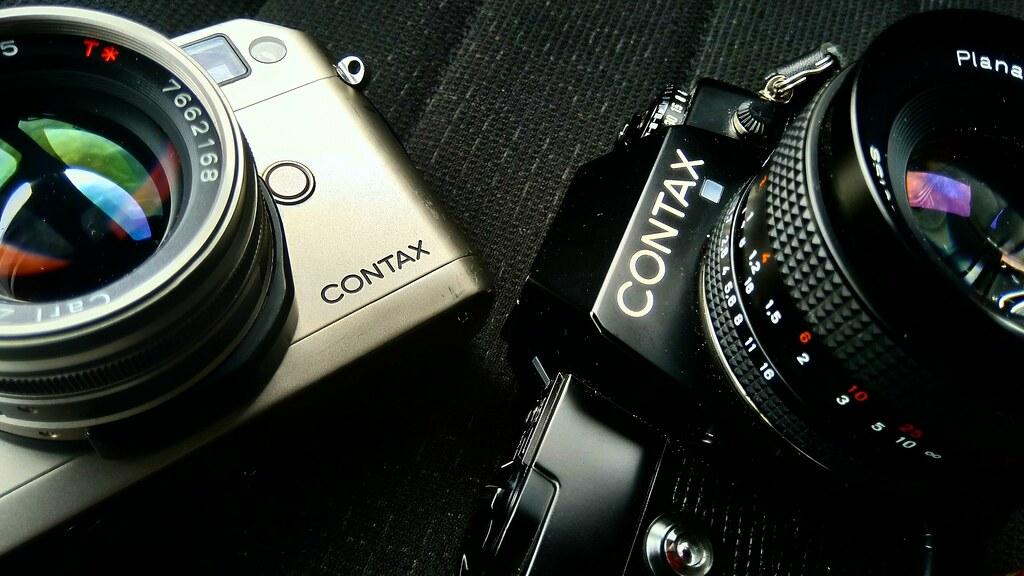Contax G1 and Contax 137 MA Quartz