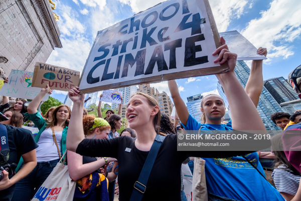 Fridays for Future NYC: Second Global Climate Strike