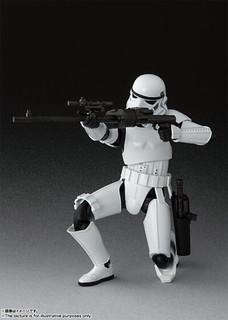 S.H.Figuarts 《星際大戰四部曲:曙光乍現》「帝國暴風兵」!ストームトルーパー(STAR WARS: A New Hope)