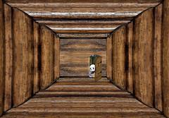 Wooden Cul-de-Sac Panda 7915k