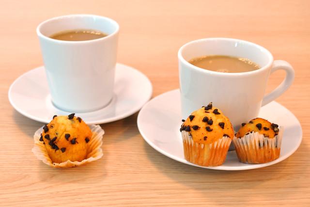 Mai 2019 ... Mini-Schoko-Muffins ... Foto: Brigitte Stolle