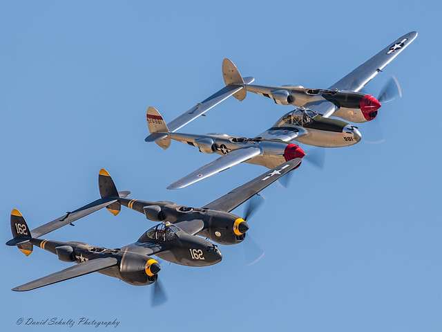 Lockheed P-38 Lightnings