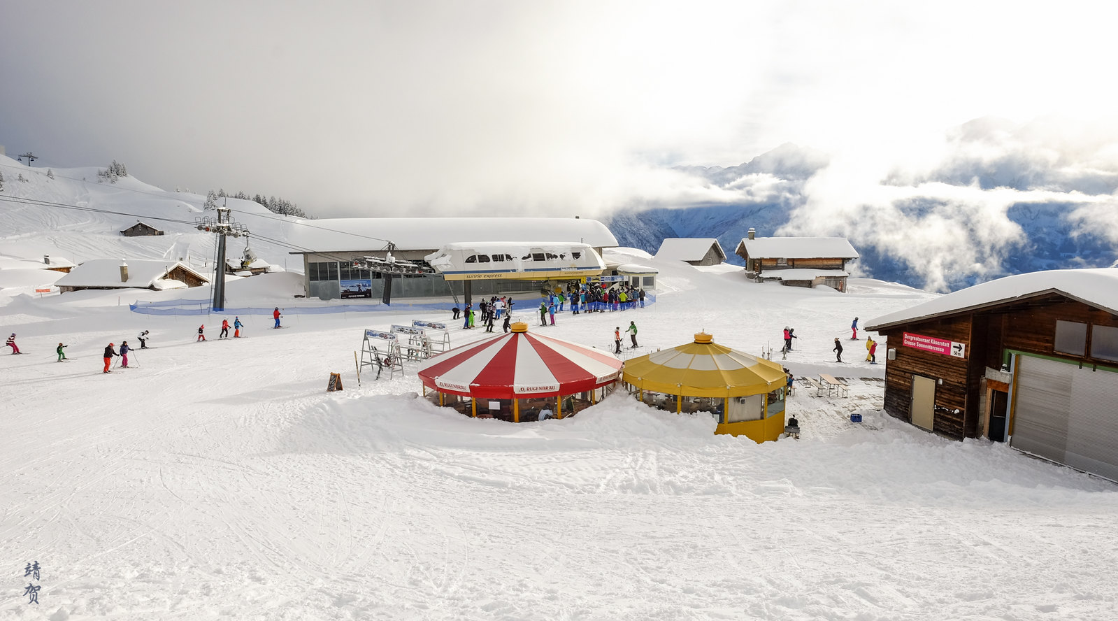Sunne Express chairlift base
