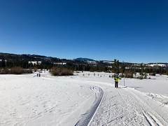 Skiing at Devils Thumb Ranch