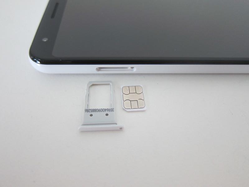 Google Pixel 3a XL - SIM Tray