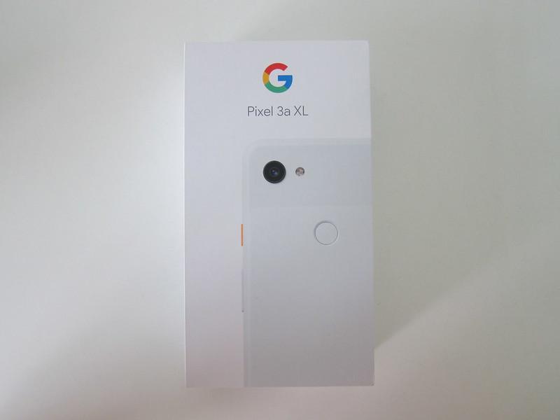 Google Pixel 3a XL - Box Front