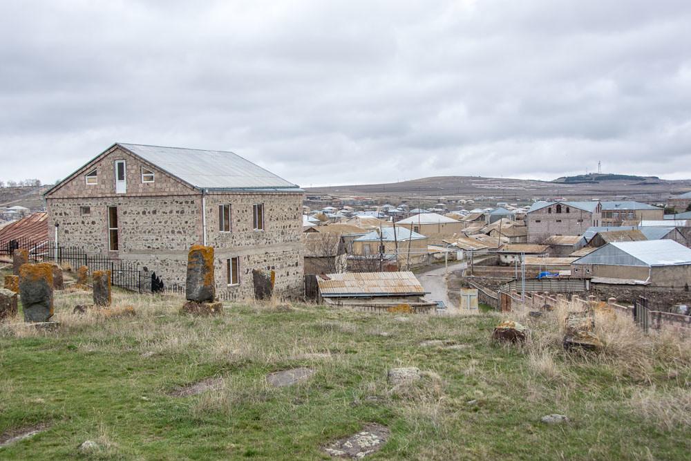 Хачкары средневековое кладбище Норатус Армения