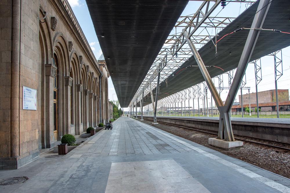из Армении в Грузию на поезде
