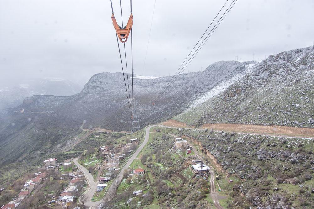 Канатная дорога Крылья Татева Армения