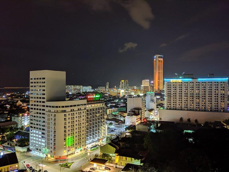 Pixel 3a XL - Building - Night Sight