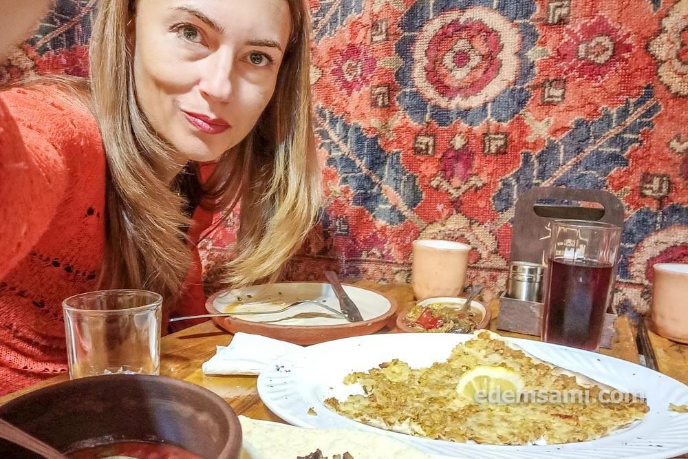 Ереван ресторан Тун Лахмаджун