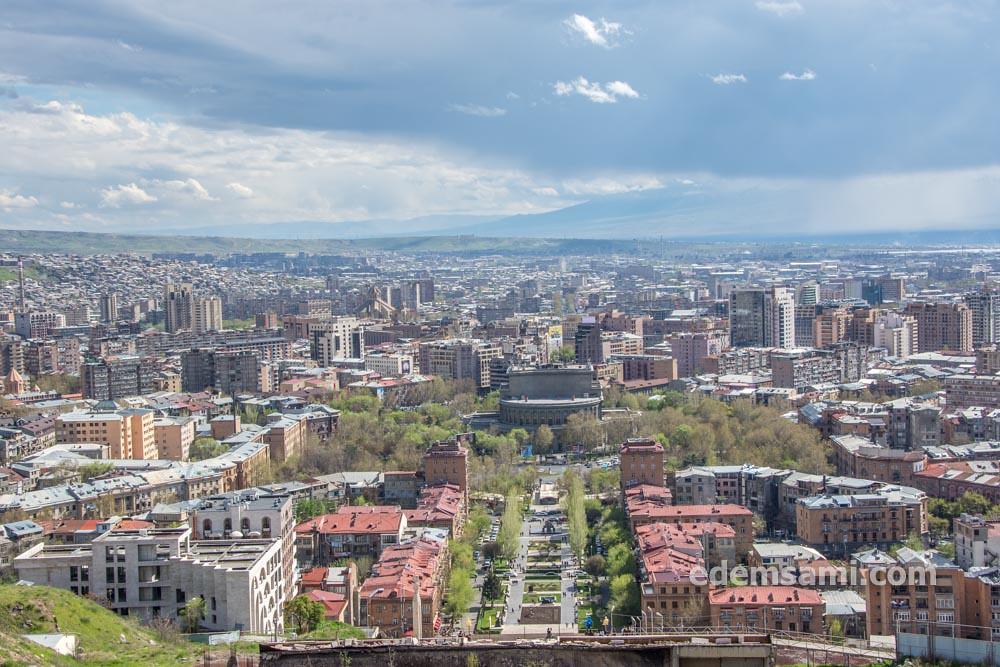 Ереван панорама