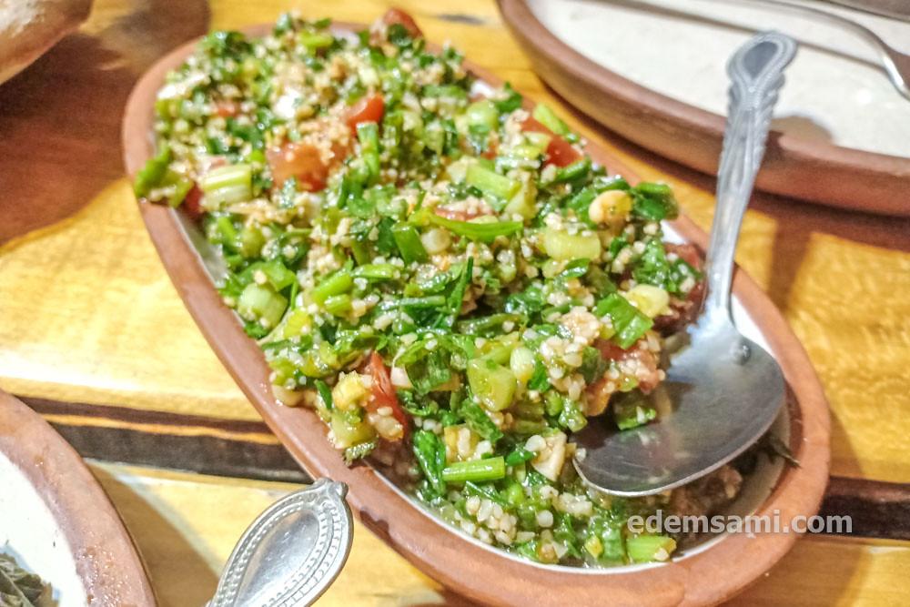 Армянская кухня салат табуле