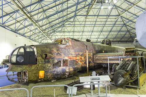 Handley Page Halifax wreck