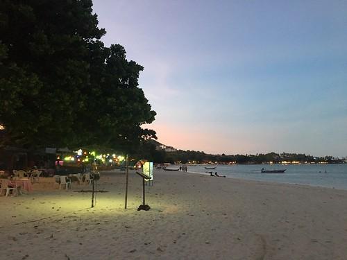 サムイ島 2019年5月色々食べてました その1 OPレストラン‐チャウエンビーチ北