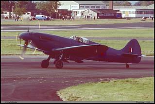 SPITFIRE PR19 PS915 Farnborough septembre 1988