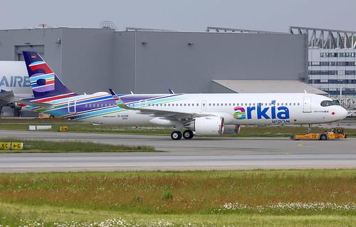 A321-251NX/LR, Arkia - Israeli Airlines, D-AVXR, 4X-AGN (MSN 8830) | by Mathias Düber