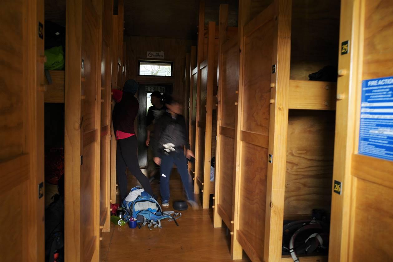 ルートバーン・フォールズロッジの寝室