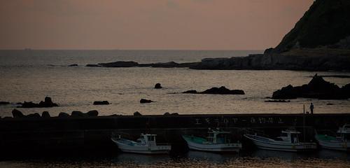 Sunset at Iruma, Izu