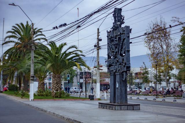 Robot Plaza de Rengo Mayo 2019