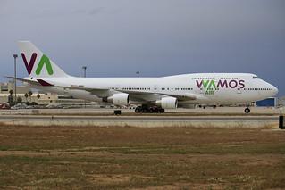 EC-MRM. B-747/400. Wamos Air. PMI.