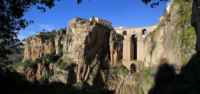 Puente Nuevo de  Ronda most photographed bridge in Spain