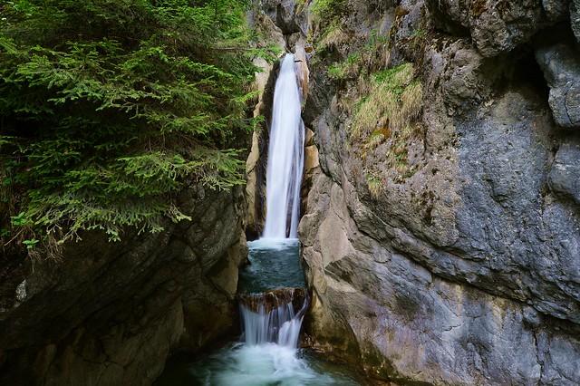 Bayrischzell - Tatzlwurm-Waterfall