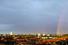 Regenbogen über Karlsruhe