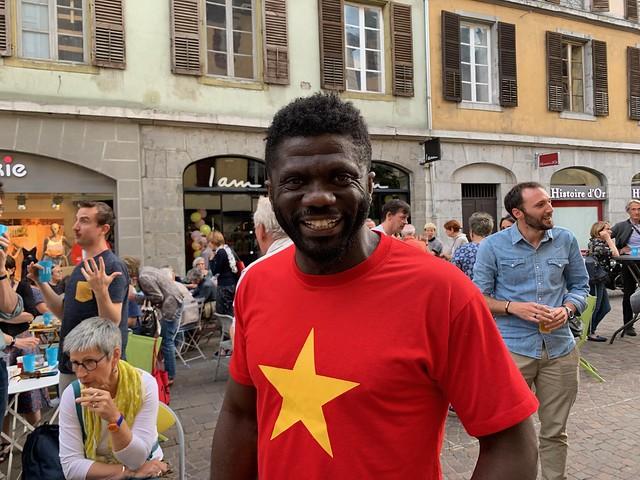 Armand Gauz - festival du premier roman de Chambéry 2019
