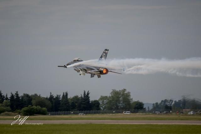 F16 en mode fury