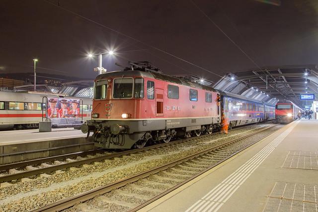 SBB Re 4/4 420 130 Zurich Hbf